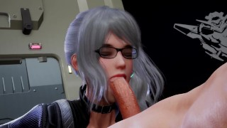 3D Hentai: FUCKING IN THE ARMORY (Fallen Doll: Operation Lovecraft)
