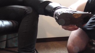 Lick it from the Boots