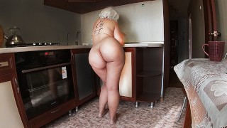 Stepmom made Cocktail to Stepson and Gave her Ass for Anal Sex