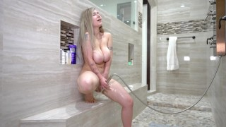 Cumming Extremely Hard from my Shower Head